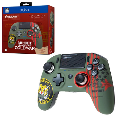 AU263.95 • Buy Nacon Revolution Pro Unlimited Wireless Cold War Edition Controller For PS4 NEW