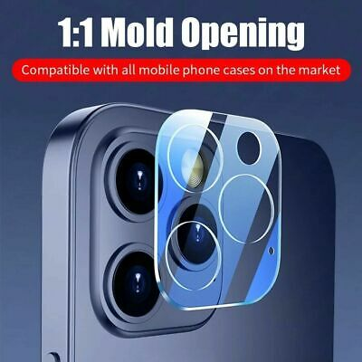 Tempered Glass Camera Lens Protective Protector For IPhone 12 Mini Pro Max  • 2.95£