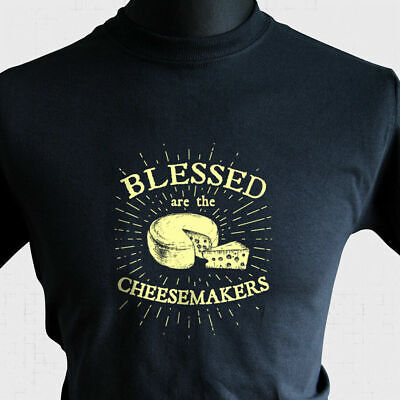 £10.99 • Buy Blessed Are The Cheesemakers T Shirt Retro Life Of Brian Monty Python Joke Tee