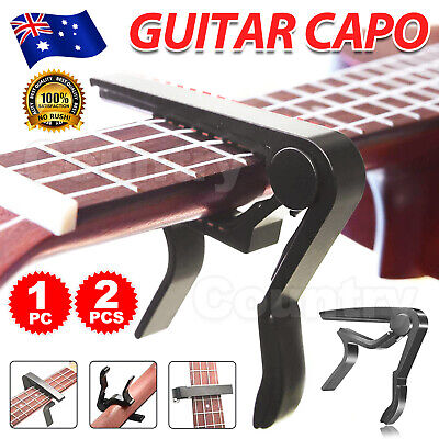 AU6.95 • Buy New Guitar Capo Spring Trigger Electric Acoustic Clamp Quick Change Release
