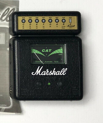 $ CDN50.74 • Buy Marshall Chromatic Automatic Tuner Guitar Pedal CAT-1 Instrument Bass