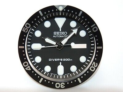 $ CDN31.56 • Buy New Replacement Black Dial,minute Track,hands,insert Fits Seiko Skx007 Diver's