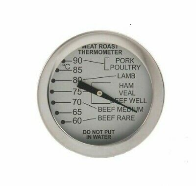 Prepara Meat Roasting Thermometer Dial Poultry Leave In Oven Roast Food Probe • 6.49£