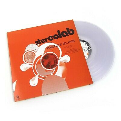STEREOLAB ~ MARGERINE ECLIPSE ~ CLEAR VINYL 3LP ~ Remastered&Numbered ~ NEW/MINT • 34.50£