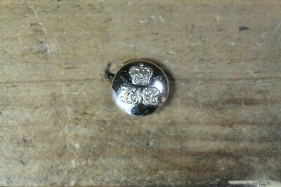Vintage HMP Her Majesty's Prison Uniform Button - Button LTD B'ham Silver 16mm • 2.50£
