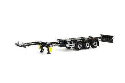 WSI 03-1010 Pacton Container Trailer (3 Axle) Scale 1:50 • 48.95£