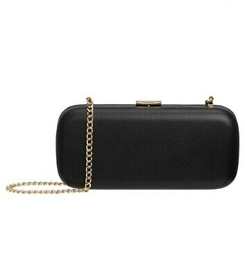 AU88 • Buy Oroton: Small Black Leather Clutch / Crossbody Bag RRP$179. SOLD OUT!