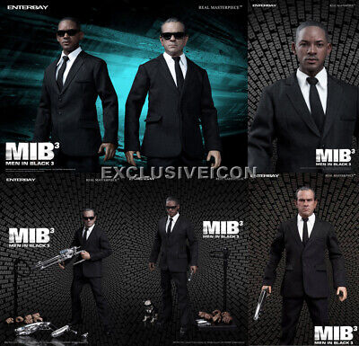 $1099.99 • Buy Hot! Enterbay Toys Men In Black 3 1/6 Agent K J With Frank The Pug SET Brand NEW