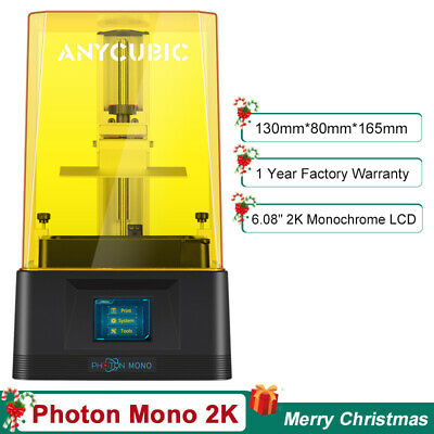 AU239 • Buy Anycubic 3D Printer Mega Zero 2.0 High Precision Plus Print Size 220*220*250mm