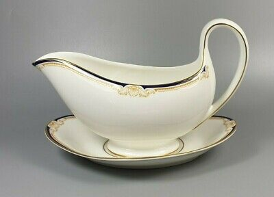 £29.99 • Buy Wedgwood Cavendish R4680 Gravy / Sauce Boat And Stand (perfect)