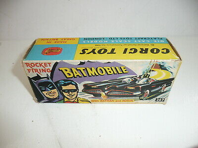 Corgi 267 1966 Original BOX For Batman Batmobile  *original BOX Only* • 70£