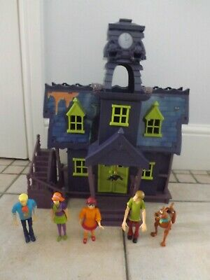 Scooby Doo Haunted Mansion/house Playset & Figures • 59.99£