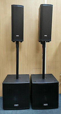 Fbt Subline And Ventis Active Speaker Package (2 Subwoofers And 2 Speakers) • 1,999.99£