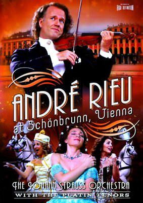 Andre Rieu & The Johann Strauss Orchestra At Schonbrunn Vienna Dvd Music • 4.99£