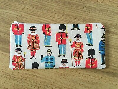 £5.50 • Buy Pencil Case Make Up Case Glasses Case (t) Made Using Cath Kidston Fabric By Dawn