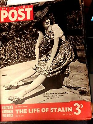 Picture Post Magazine 5th July 1941 The Life Of Stalin • 5£