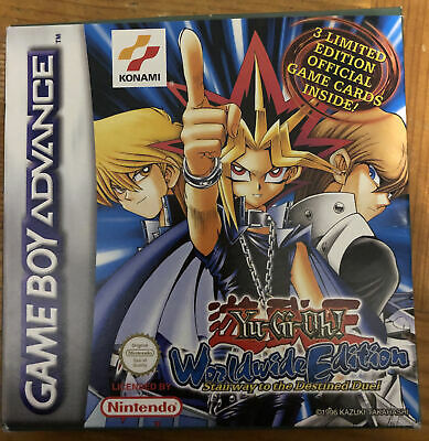 Yu-Gi-Oh Worldwide Edition: Stairway To The Destined Duel Game Boy Advance GBA • 9.95£