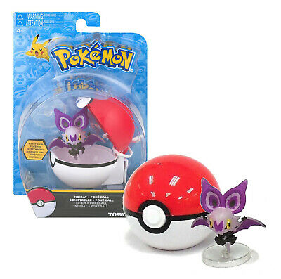 Pokemon Noibat + Poke Ball With Stand New In Package • 10.53£