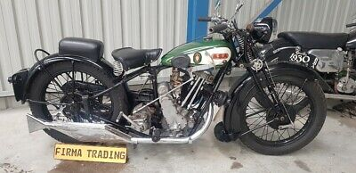 AU27950 • Buy 1930 BSA Sloper 500cc Extremely Rare Firma Trading Classic Motorbikes Australia
