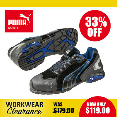AU119 • Buy Puma Safety Work Boots 642750 Rio NEW With Tags
