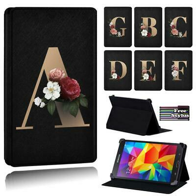 £7.99 • Buy Gold PU Leather Stand Folio Cover Case For Samsung Galaxy Tab 2/3/4 7 8 10  +pen