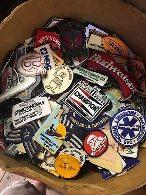 $17 • Buy Vintage Patch Lot 25 Patches Nasa,automotive,Promo,police,Sports,Military Rare