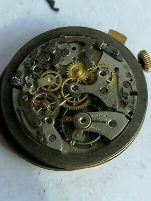 $ CDN240.78 • Buy Vintage Lemania Chronograph Movement. Titus Dial. Working.  Only Parts/restore