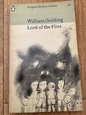 Lord Of The Flies - William Golding - 1965 -Vintage - Rare - Penguin • 6.99£