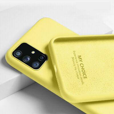 AU9.79 • Buy Shockproof Rubber Liquid Silicone Case Samsung S20 FE S21 S10 S9 8 Note 20 10 5G