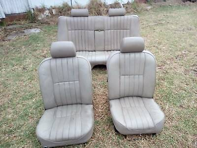 AU600 • Buy Jaguar XJ6 Series 3, Front And Rear Leather Seats, VGC, Oatmeal Colour