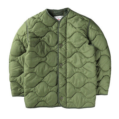 $75.92 • Buy M65 Cotton-padded Liner Men's Quilted Jacket Winter Warm Military Army Coat