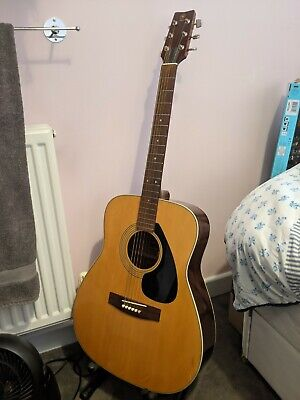 Yamaha FG-160 Acoustic Guitar - Black Label • 185£