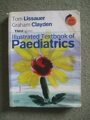 Illustrated Textbook Of Paediatrics By Tom Lissauer, Graham Clayden (Mixed Media • 2.50£