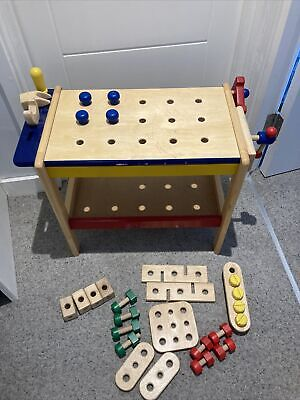 Pintoy Child's Wooden Workbench • 25£