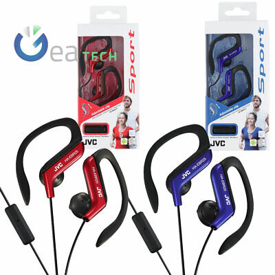 JVC Earphones With Wire In-Ear HA-EBR25 For Lo Sport With Clip Adjustable • 29.76£