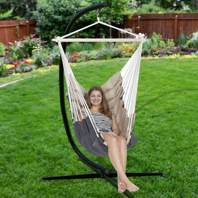 Hammock Stand C Stand For Hanging Hammock Air Porch Swing Chair 330Lbs Capacity  • 99.91£