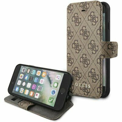 Genuine GUESS 4G Collection Book Case For IPhone 9 IPhone 8, IPhone 7 & SE2 • 24.95£