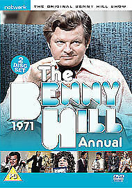 The Benny Hill Annual 1971 (DVD, 2005, 2-Disc Set) Brand New Factory Sealed • 19.99£