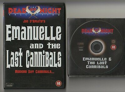 Joe D'Amato - EMANUELLE And The LAST CANNIBALS Dvd [1977] - Dead Of Night DVD • 2.29£