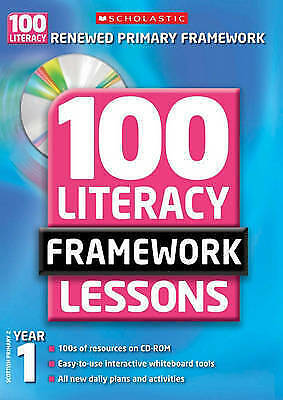 £1.50 • Buy 100 New Literacy Framework Lessons For Year 1 With CD-Rom By Sylvia Clements, J…