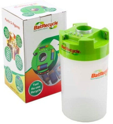 Batrecycle - Battery Recycling Bin With Built In Tester. • 17.06£