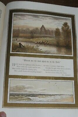 1878 The Sunday At Home Family Magazine 12 Colour Plates Religion Church Morals* • 19.99£