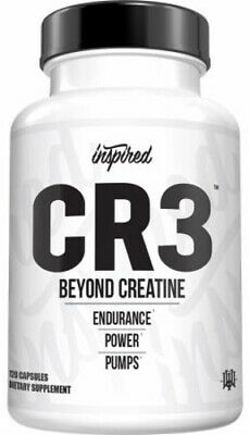 AU184.51 • Buy INSPIRED NUTRACEUTICALS CR3 (120 CAPSULES) Creatine Hcl Power Muscle Pump Dvst8