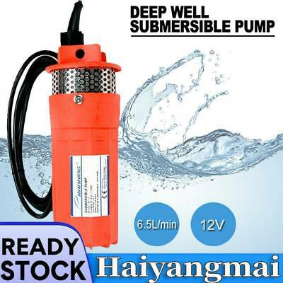 Submersible Deep Well Water Pump Solar Battery For Pond Garden Watering DC 12V • 68.90£