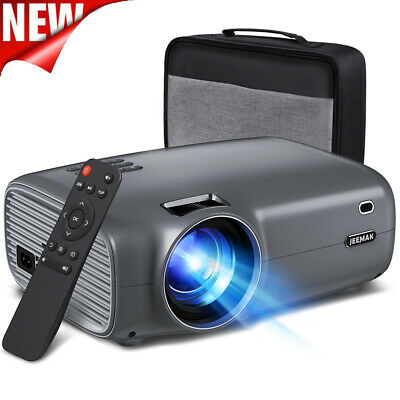 AU149.51 • Buy JEEMAK 1080P Full HD Portable Mini Projector Video Movie Home Theater Cinema LED