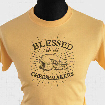 £10.99 • Buy Blessed Are The Cheesemakers Life Of Brian T Shirt 80's Monty Python Joke Y Haze