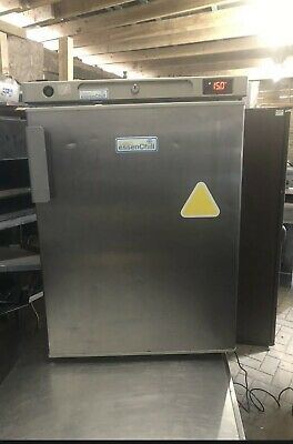 £190 • Buy Lec Stainless Steel  Undercounter Fridge Chiler Good Working Condition