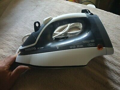 AU24.99 • Buy Philips Steam  Iron 2200 Watts GC 2560 Double Active Calc System