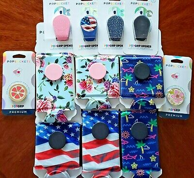 AU10.19 • Buy Popsockets PopGrips Opener Thirst Phone Stand Soda Can Holder Flag Rose U Choose