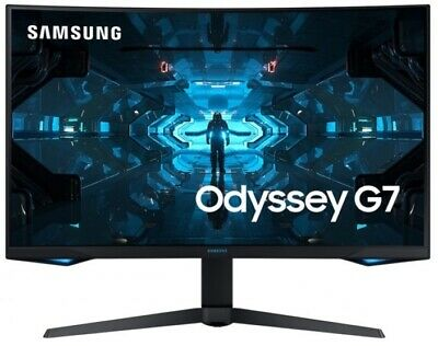 AU749 • Buy SAMSUNG LC27G75TQSEXXY, 27  Odyssey G7 QLED Curved Serious Gaming Monitor 240Hz